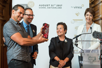 20th Mondial des Pinots: the big winner in 2017 is from Graubünden!